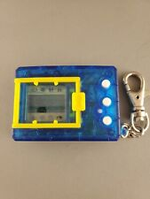 🎮 1997 Digimon Digital Monster Ver.4 Clear Blue Virtual Pet Tamagotchi Bandai