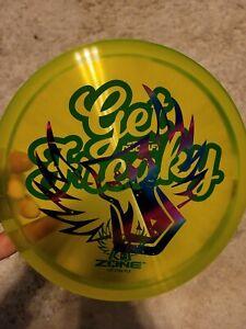 Discraft Cryztal FLX Zone Get Freaky Misprint Brodie Smith Green Darkhorse