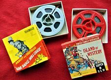 "WALT DISNEY'S ""ISLAND OF MYSTERY"" & ABBOTT & COSTELLO ""HAVE BADGE""~SUPER 8 FILMS"