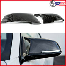 100% Carbon Fiber x ABS Side Wing View Mirror Cover Cap for BMW4 Coupe 2013-
