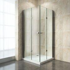 Duschabtrennung Duschkabine Schwingtür Duschwand Dusche Falttür Eckeinstieg 6 mm