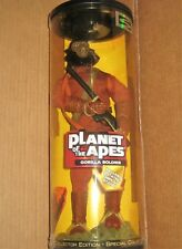 PLANET OF THE APES 30cm GORILLA SOLDIER ACTION FIGURE +DISPLAY STAND STILL BOXED