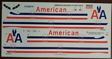 1/144 - MINICRAFT DECAL - AMERICAN AIRLINES - BOEING 777-200 - 14472