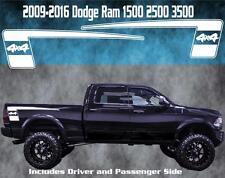 2009-2016 Dodge Ram Vinyl Decal Graphic Truck Bed Stripes Hemi Hockey 4x4