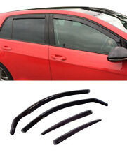 FOR VOLKSWAGEN GOLF 2012-23 5 DOOR, 7 WINDOW VISORS SUN RAIN GUARD WIND