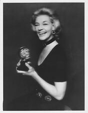 Lauren Bacall holding her Tony Award ~ ORIG 1970 press photo... Applause