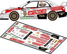 DECALS 1/43 SUBARU IMPREZA WRC - #15 - SOENENS - RALLYE DU TAC 2012 - D43106