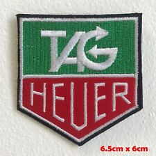 Tag Heuer watches biker badge Iron or Sew On Embroidered Patch