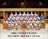 1980 USA Olympic Hockey Team Photo 8X10 - Miracle On Ice Lake Placid New York