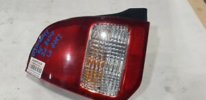 MITSUBISHI MIRAGE LEFT PASSENGER SIDE TAILLIGHT CLEAR  1999 2000 2001 2002 2003