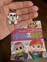 *Wishables* Mystery Pin Pack -Pirates Of The Caribbean Skeleton Pillager- Disney