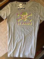 FC St. Pauli T-Shirt Totenkopfsymbol in 3D grau Gr. XL neu ovp Millerntor TK