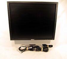 "Dell UltraSharp 1907FPC 19"" LCD Computer Monitor Flat Screen DVI VGA Swivel Stan"