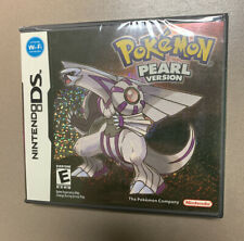 Pokemon: Pearl Version Brand New Factory sealed (DS, 2007) Re-Release