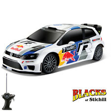 Maisto 1:24 Scale RC Radio Controlled VW Volkswagen Polo R WRC Rally Car,RTR