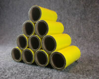 "PYRO tubes with end plugs 1/"" x 2.5/"" ***QTY=10***"