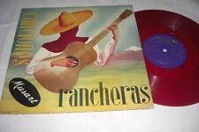 """(5839) Alfredo Pineda con Mariachi - Canciones Rancheras - 25cm/10"""" - red Vinyl"""