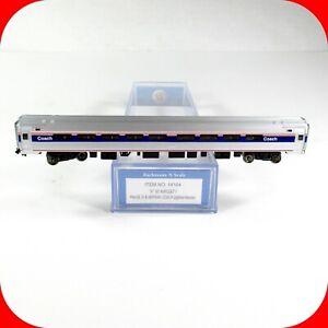 N Scale AMTRAK AMFLEET Phase IV B Passenger Coach Car - BACHMANN 14164 - LIGHTED