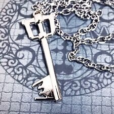 Kingdom Hearts - Keyblade - Collectible Chain Necklace - Silver - BRAND NEW!