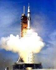 APOLLO-SOYUZ TEST PROJECT (SA-210) SATURN 1B LAUNCH - 8X10 NASA PHOTO (EP-479)