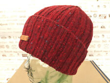 FRED PERRY Beanie DONEGAL Fleck Cable Knit Ox Blood MACKIE Edtion Wool Cap BNWT