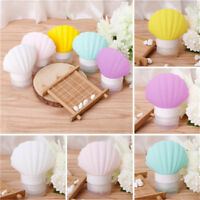 Cute Seashell Silicone Portable Travel Packing Bottles Lotion Shampoo Container