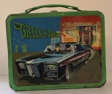 VINTAGE LUNCHBOX W/METAL THERMOS 1967 THE GREEN HORNET