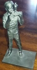The Danbury Mint American Series Fine Pewter The Inventor Figurine