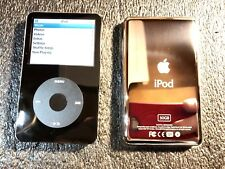 Apple iPod Classic 5th Gen Black 30GB MA002LL/A AAC WAV MP3 Video Player