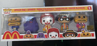 🌟Funko POP Mcdonalds 5 Pack Ad Icons Golden Arches Exclusive In Hand Ships Now!