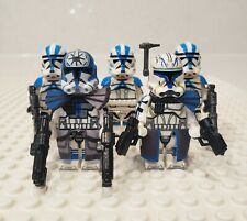 Nice Lot of 5 Star Wars 319th Ranger Clone Troopers Compatible w// MINI Figures