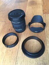 Sigma 17-70 (Canon Mount) e Nauticam Zoom Gear