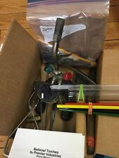 Glassblowing kit National 6b Torch, Glasses, Tools, boro coe33 Glass Etc.