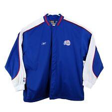 Reebok Mens 4XL Jacket LA Clippers NBA Authentic Zip Up Long Sleeve