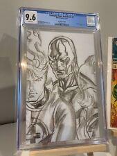 Fantastic Four Antithesis #2 CGC 9.6 Alex Ross Timeless 1:100 Sketch Variant