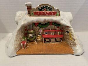 29T, Santas Workshop, Enesco, Musicbox, Santa Claus Is Coming To Town
