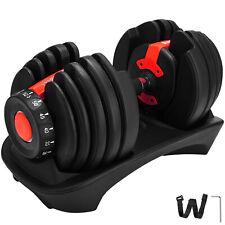 52.5LBS Adjustable Dumbbell 1 PCS Fitness Standard Adjustable Dumbbell