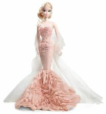 Barbie Fashion Model Mermaid Gown Sirène Gold Label Collection Silkstone NRFB .