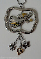 e Angels watch over us GUARDIAN ANGEL spinner SPINNING CAR MIRROR CHARM REARVIEW