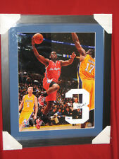 Chris Paul LA Clippers 16x20 Photo With Autographed #3 Jersey in Shadowbox PSA