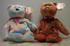 Bidder & M.C. Beanie IV Babies With Tags & Case 2003/04