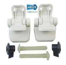 29098//–/1000 by Jabsco Jabsco Sedile WC Set di Cerniere per Compact Legno assemblaggio