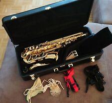 Yanagisawa 901 Alt-Saxophon + Koffer + Gurt + Zubehör + gepflegt & guter Zustand