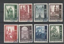 """Österreich 1948 """" Wiederaufbau des Salzburger Domes """" 885 - 892  gest. Satz"""