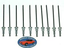 Plymouth Dodge Mopar Chrysler Windshield Trim Molding Clip Pin Rivet Stud 10p LO