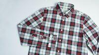 Jack Wills Casual shirt men Long Sleeve top size M Medium red blue PLAID