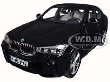 BMW X4 (F26) SAPPHIRE BLACK 1/18 DIECAST MODEL CAR BY PARAGON 97094