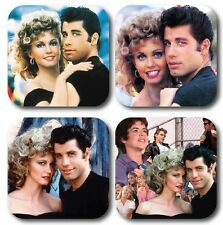 Grease Inspired Coasters - Set of 4 - High quality compressed hardwood backed
