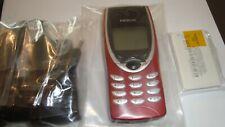Handy Nokia 8210, Rot, kein Simlock, Neu, 24 Monate Garantie