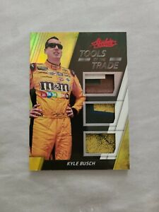 2017 Panini Absolute Tools of the Trade Kyle Busch Raced Used 25/25